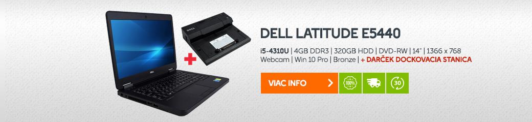 Notebook DELL Latitude E5440 + Dock station