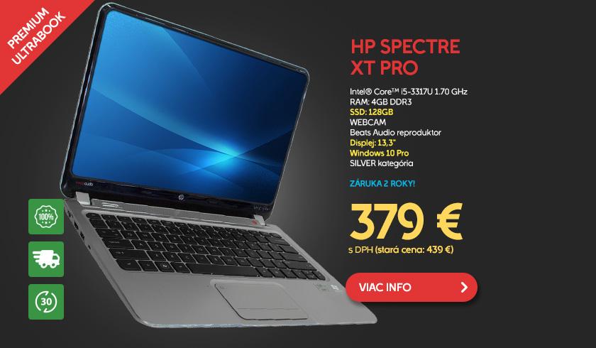 Notebook HP Spectre XT Pro