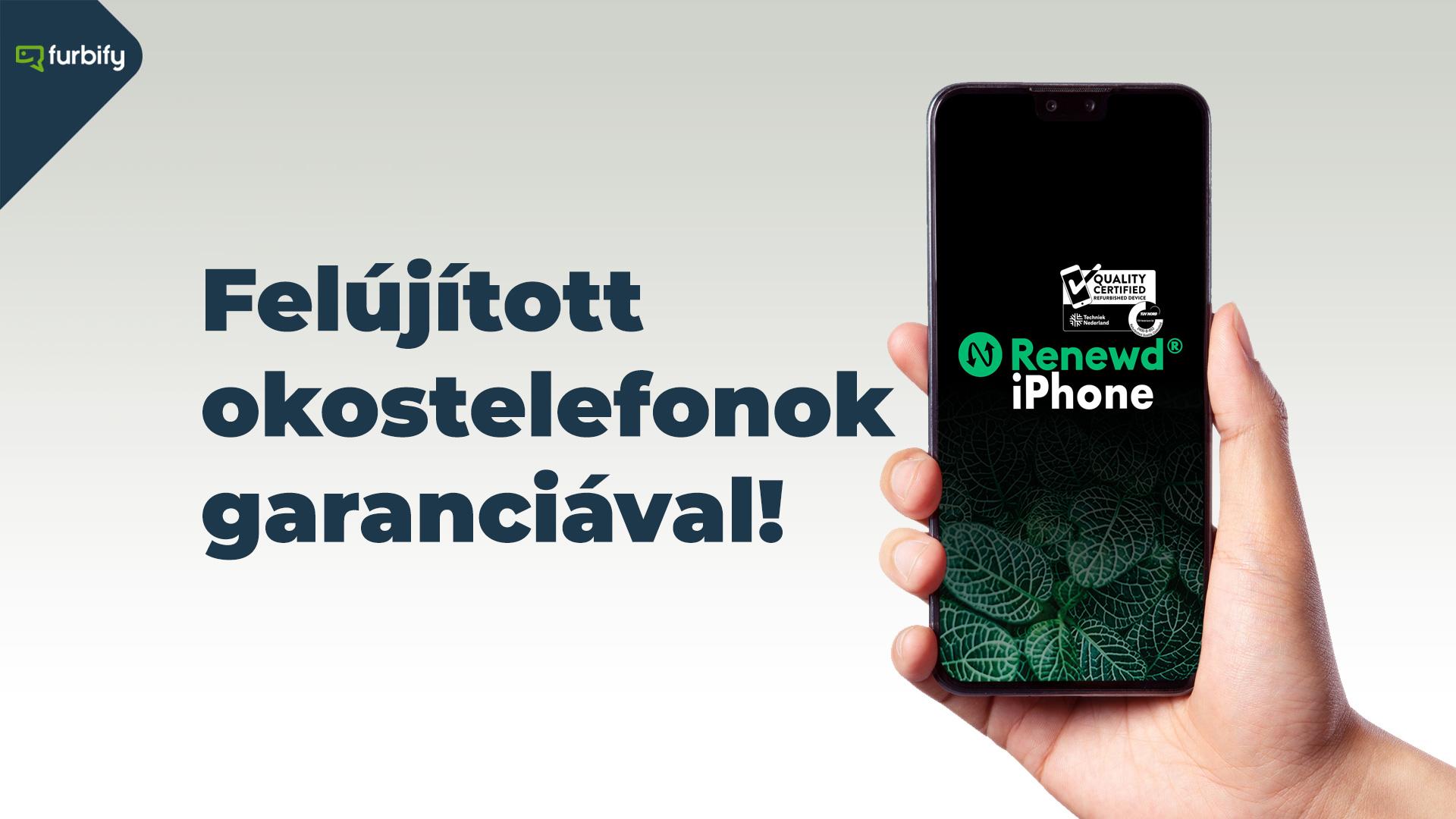felújított okostelefonok