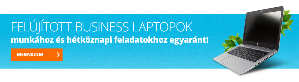 felújított laptopok munkához és hétköznapi feladatokhoz