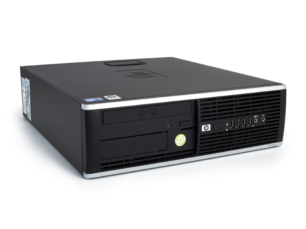 "HP Compaq 8000 Elite SFF - SFF | C2Q Q9400 | 4GB DDR3 | 250GB HDD 3,5"" | DVD-RW | GMA 4500 | Win 7 Pro COA | A-"