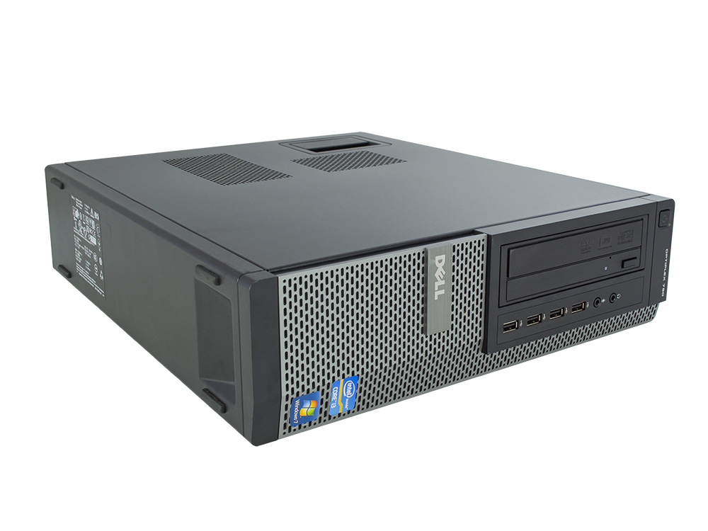 "DELL OptiPlex 790 SFF - SFF | i3-2120 | 4GB DDR3 | 250GB HDD 3,5"" | DVD-RW | HD 2000 | Win 7 Pro COA | A-"