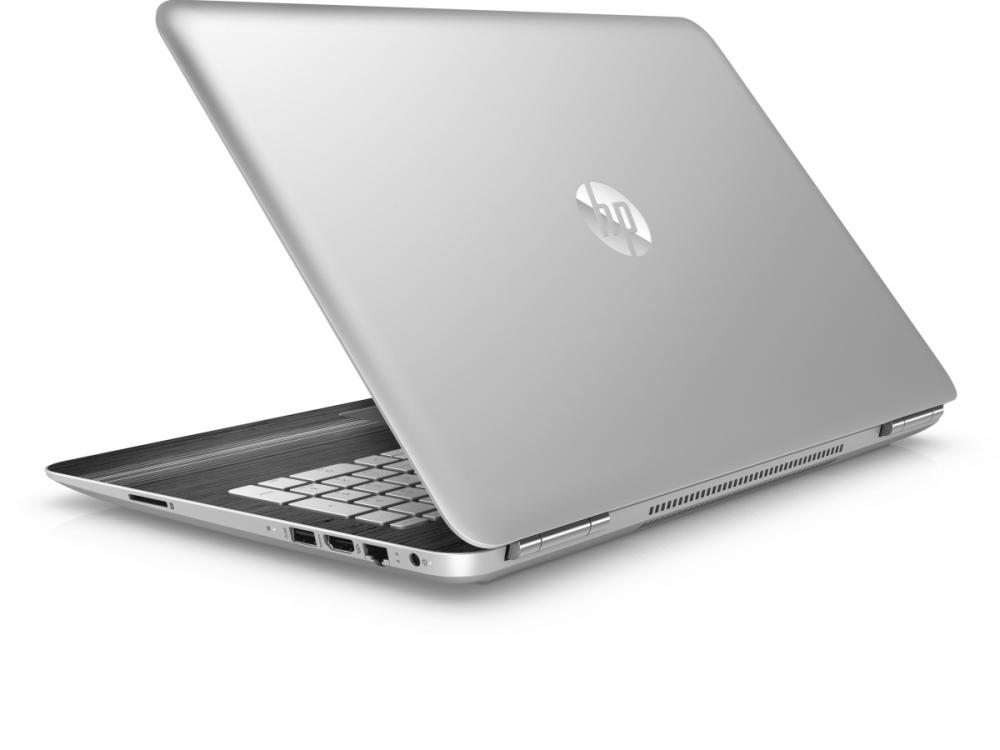 "HP Pavilion - 15-bc202nc - i7-7700HQ | 16GB DDR4 | 256GB (M.2) SSD | 1TB HDD 2,5"" | 15,6"" | 1920 x 1080 | NumPad | Webcam, HD | GTX 1050 2GB | Win 10 Home | HDMI | Platinum"