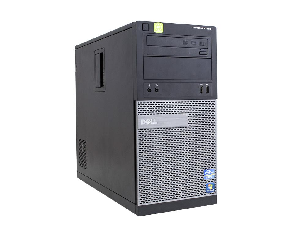 "Dell OptiPlex 390 MT - MT | i5-2400 | 4GB DDR3 | 250GB HDD 3,5"" | DVD-RW | HD 2000 | Win 7 Pro COA | HDMI | Silver"