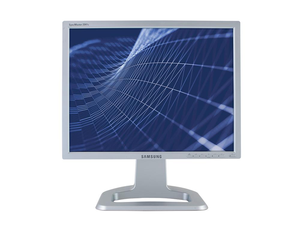 "SAMSUNG SyncMaster 204Ts - 20"" | 1600 x 1200 | DVI | VGA | A"