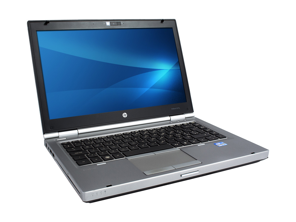 "HP EliteBook 8470p - i7-3520M | 4GB DDR3 | 128GB SSD | DVD-RW | 14"" | 1600 x 900 | HD 7570M 1GB | Win 7 Pro COA | B"