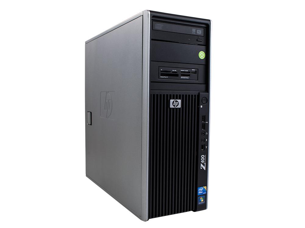 """HP Workstation Z400 - CMT   Xeon W3503   4GB DDR3   250GB HDD 3,5""""   DVD-RW   NVS 450   Win 7 Pro COA   A-"""