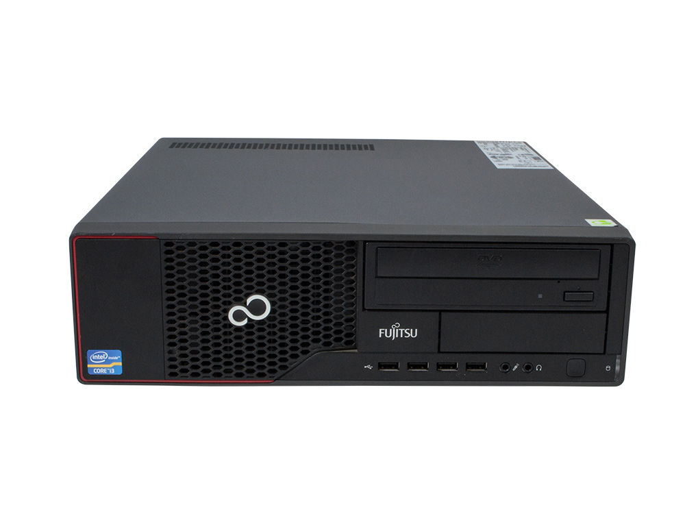 "FUJITSU Esprimo E710 SFF - SFF   Pentium G640   4GB DDR3   320GB HDD 3,5""   DVD-ROM   HD 2500   A-"