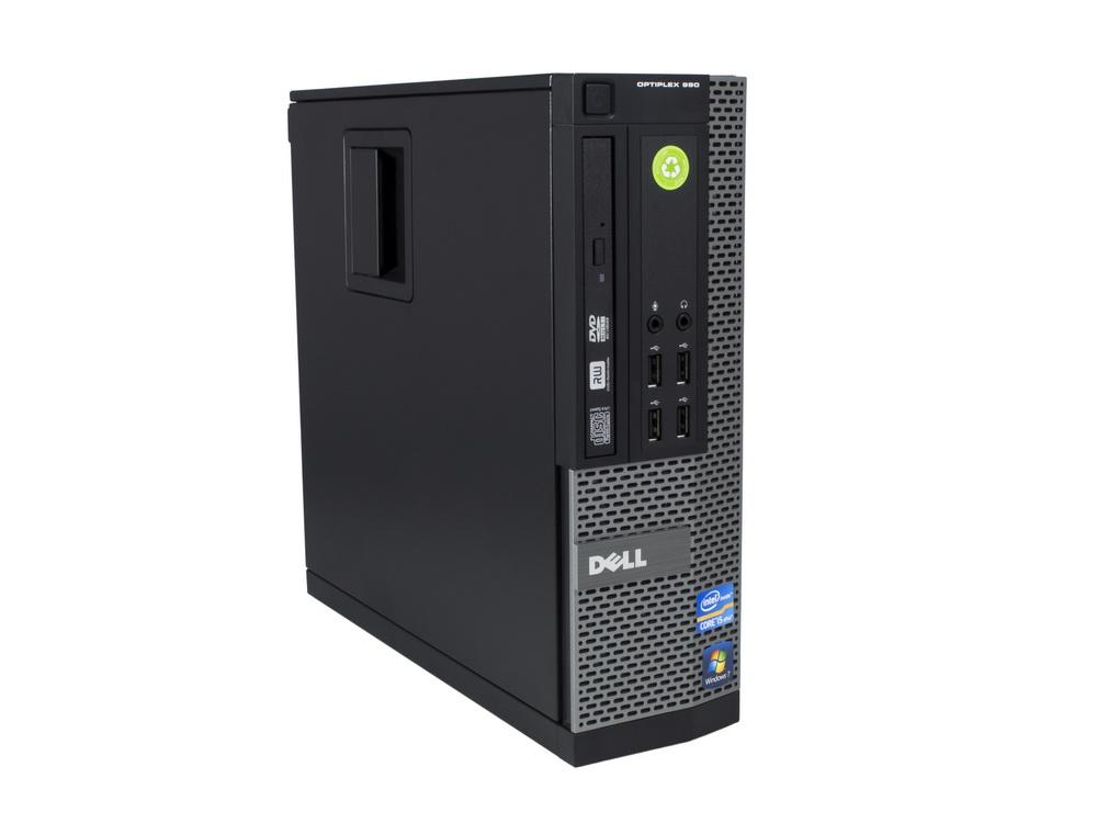 "DELL OptiPlex 990 SFF - SFF | i3-2130 | 4GB DDR3 | 250GB HDD 3,5"" | DVD-ROM | HD 2000 | Win 7 Pro COA | A-"