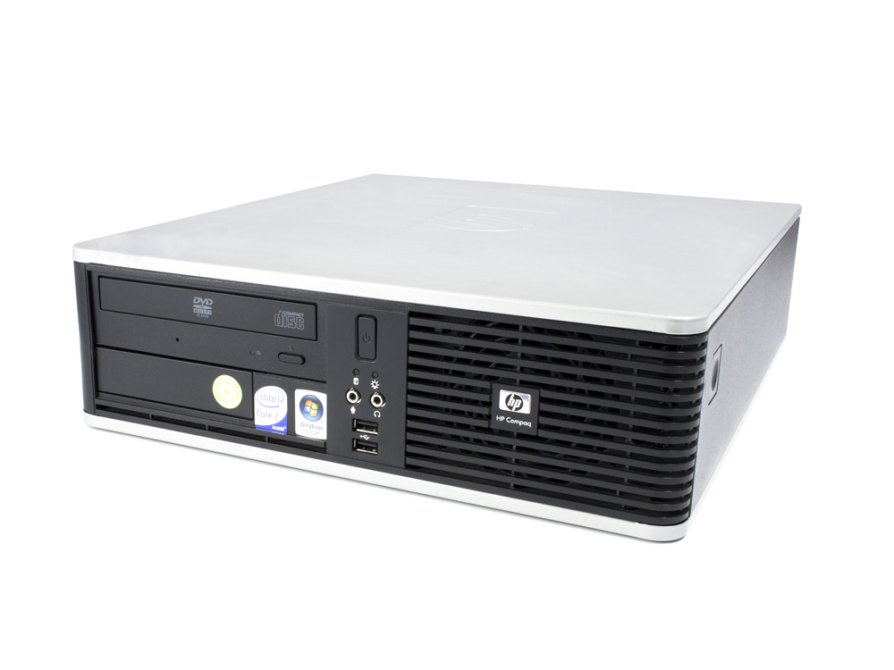 "HP Compaq dc7900 SFF - SFF | C2D E8300 | 4GB DDR2 | 160GB HDD 3,5"" | DVD-ROM | GMA 4500 | B"