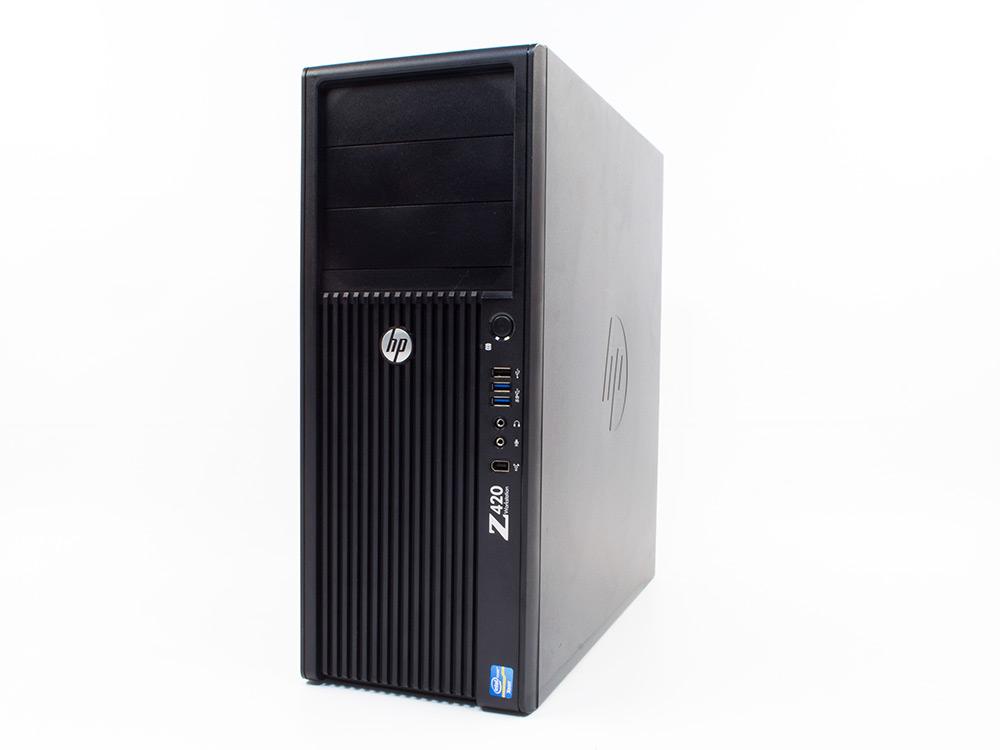 HP Z420 Workstation - Xeon E5-1603 | 32GB DDR3 | 240GB SSD | DVD-ROM | Quadro 2000 | Win 7 Pro COA | A-