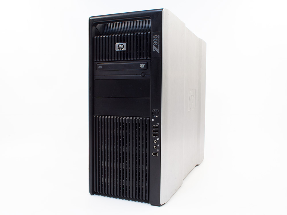 HP Z800 Workstation - Xeon X5650 | 64GB DDR3 | 240GB SSD | DVD-ROM | Quadro 2000 1GB | Win 7 Pro COA | A-