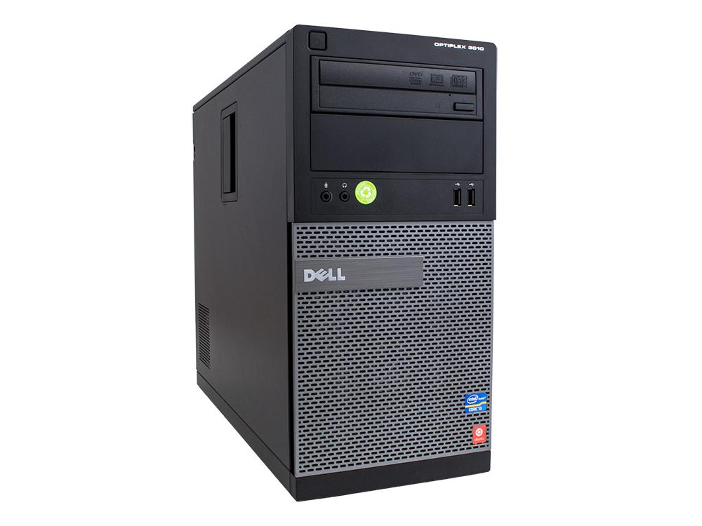 """DELL OptiPlex 3010 MT - MT   i5-3470   8GB DDR3   250GB HDD 3,5""""   DVD-RW   HD 2500   Win 7 Pro COA   HDMI   A"""