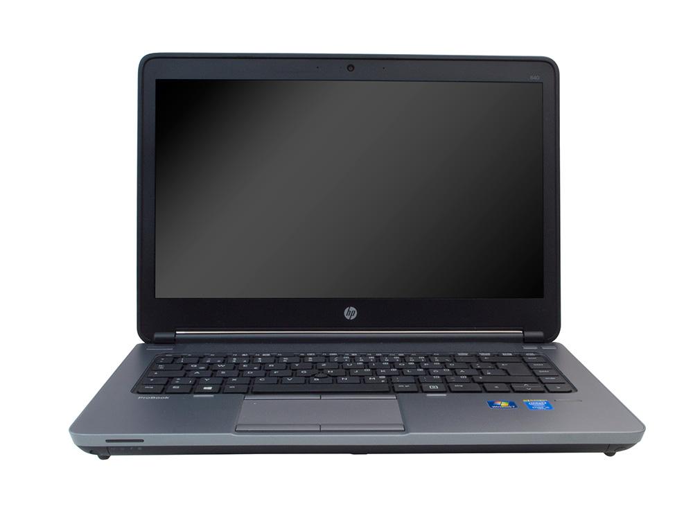 """HP ProBook 640 G1 - i5-4210M   8GB DDR3   128GB SSD   NO ODD   14""""   1366 x 768   Webcam, HD   HD 4600   Win 10 Pro   A-"""