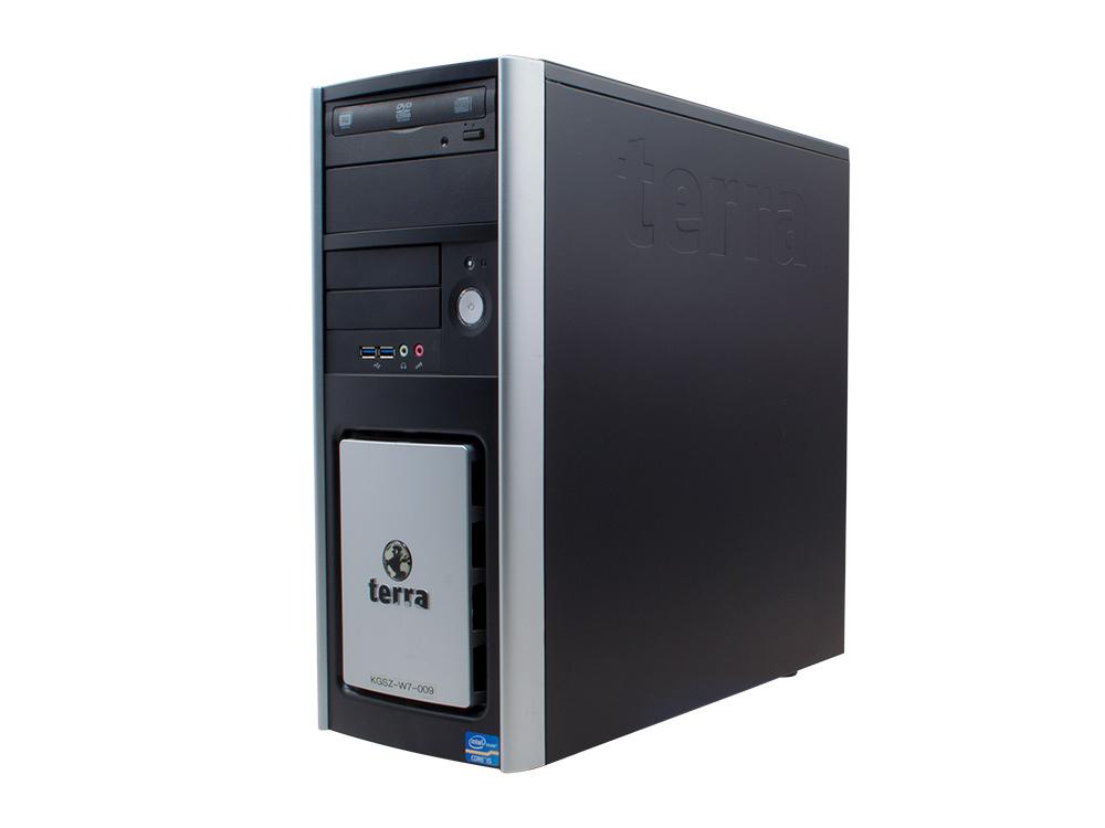 "TERRA G3250 - TOWER | Pentium G3250 | 4GB DDR3 | 250GB HDD 3,5"" | DVD-RW | Intel HD | Win 7 Pro COA | Silver"
