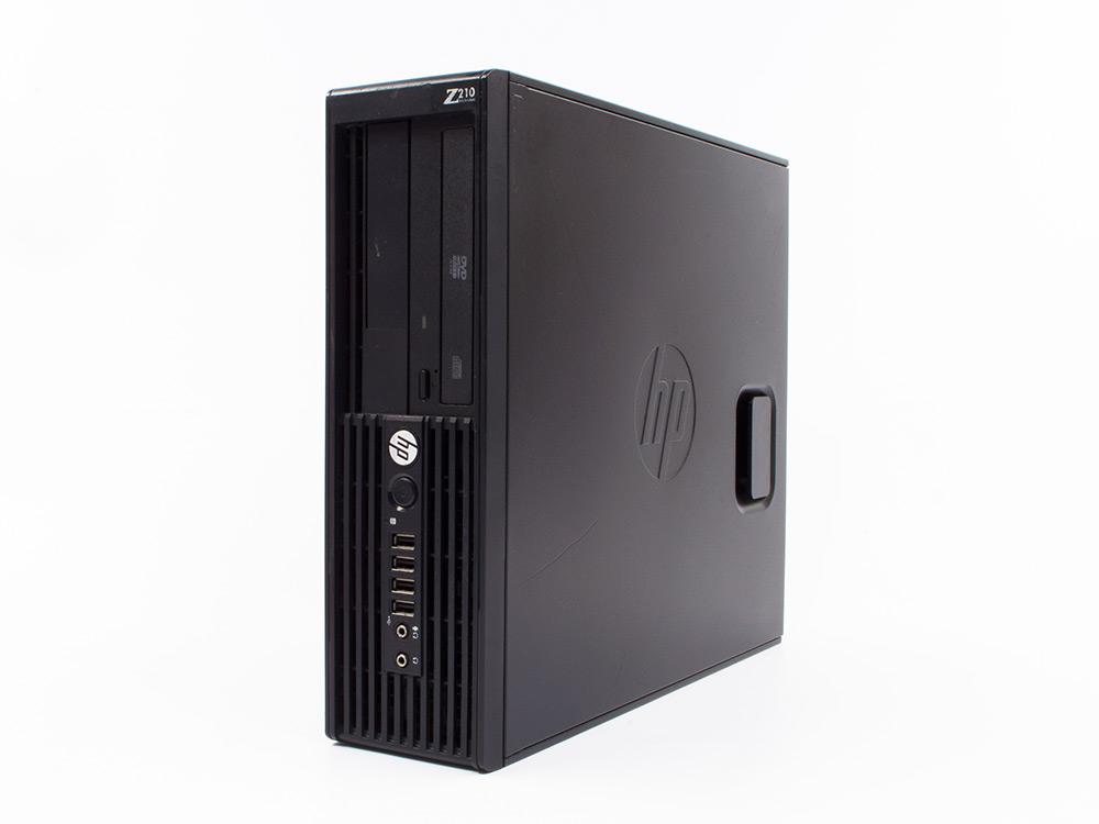 """HP Workstation Z210 CMT - CMT   i7-2600   4GB DDR3   500GB HDD 3,5""""   DVD-RW   HD 2000   Win 7 Pro COA   A-"""