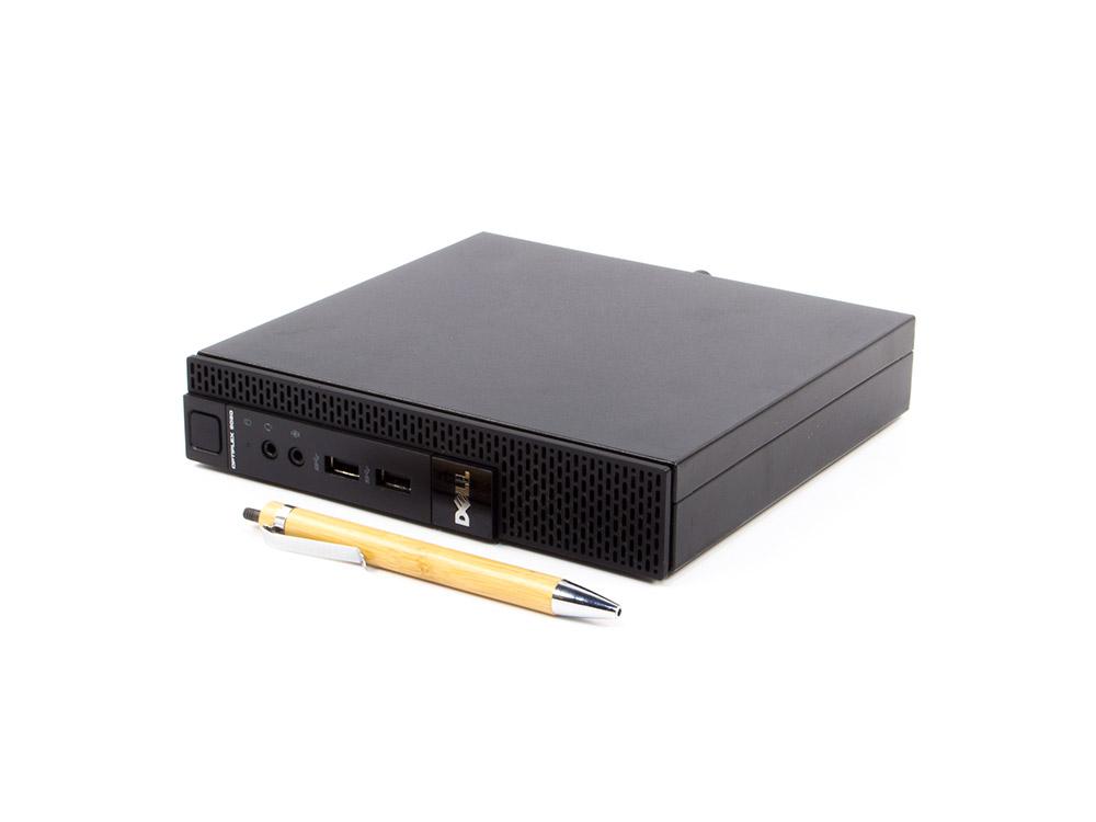 """DELL OptiPlex 3020 Micro - Tiny   i3-4150T   4GB DDR3   500GB HDD 2,5""""   NO ODD   HD 4400   Win 10 Pro   A-"""