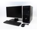PC zostava FUJITSU Esprimo P710 MT + HP Compaq LA2205wg 22