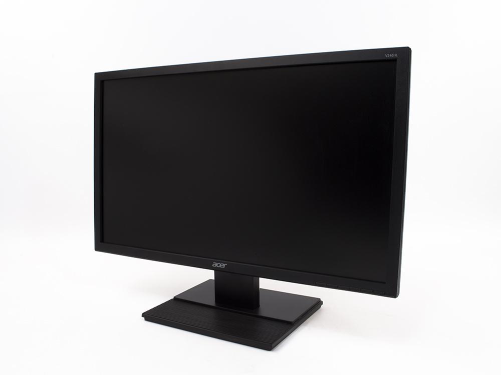 "ACER V246HL - 24"" | 1920 x 1080 (Full HD) | LED | DVI | VGA (d-sub) | Speakers | B"