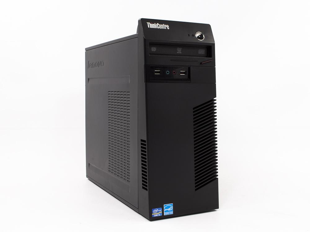 "LENOVO ThinkCentre M81 Tower - TOWER | Pentium G850 | 4GB DDR3 | 250GB HDD 3,5"" | DVD-RW | Intel HD | Win 7 Pro COA | A-"