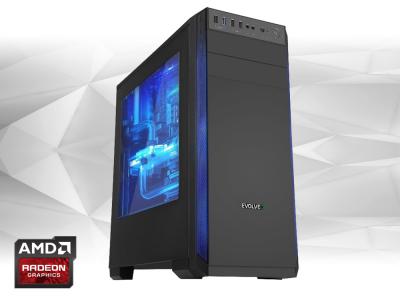 Počítač Furbify GAMER PC 3 Tower i5 + RX580 8GB