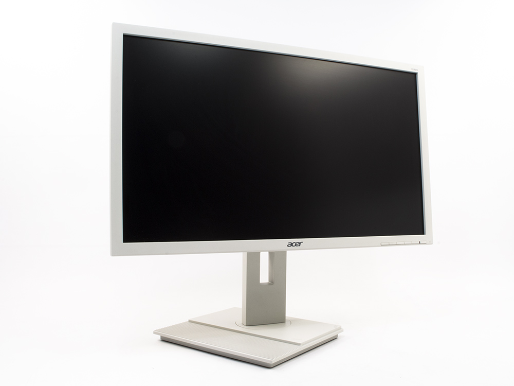 "Acer B246HL white - 24"" | 1920 x 1080 (Full HD) | LED | DVI | VGA (d-sub) | Speakers | Silver"