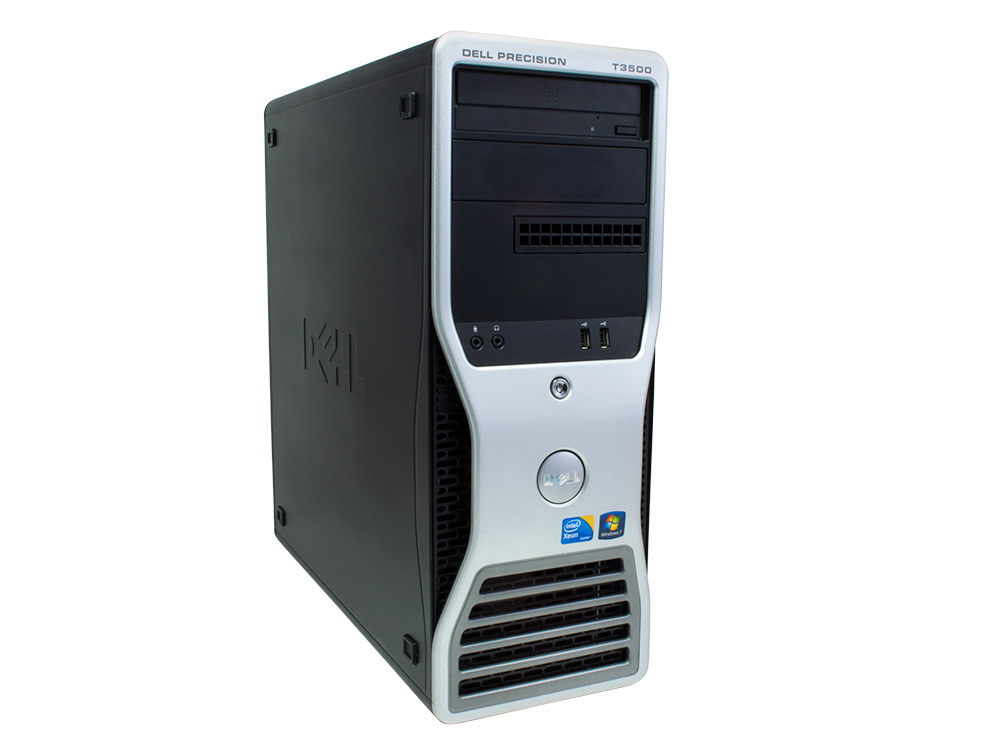DELL Precision T3500 T - TOWER | Xeon W3670 | 16GB DDR3 | 256GB SSD | 500GB HDD 3,5"