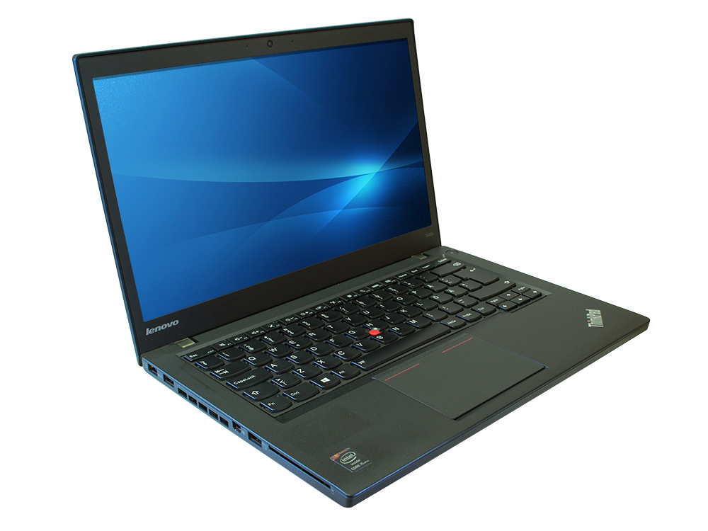 "LENOVO ThinkPad T440 - i5-4300U | 8GB DDR3 | 240GB SSD | NO ODD | 14,1"" | 1600 x 900 | Webcam | HD 4400 | Win 7 Pro COA | A-"