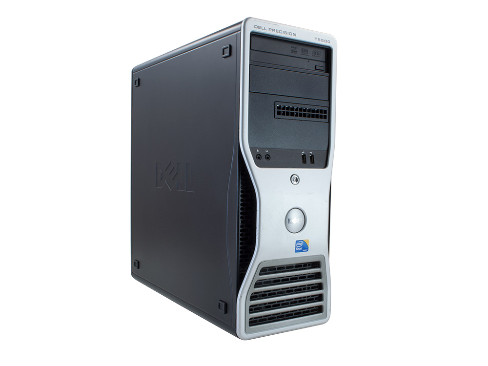 DELL Precision T5500 - MT | Xeon E5520 | 4GB DDR3 | 250GB HDD 3,5"