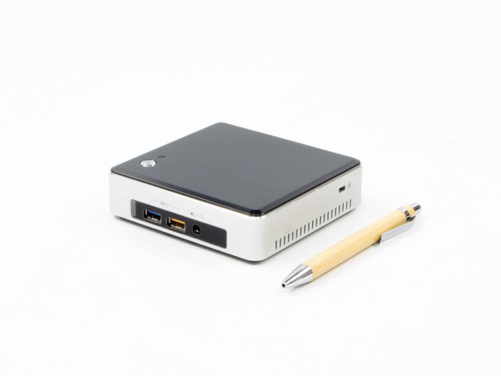 INTEL NUC5i3RYK - UCFF | i3-5010U | 8GB DDR3 | 120GB SSD | NO ODD | HD 5500 | miniDP | mini HDMI | Silver