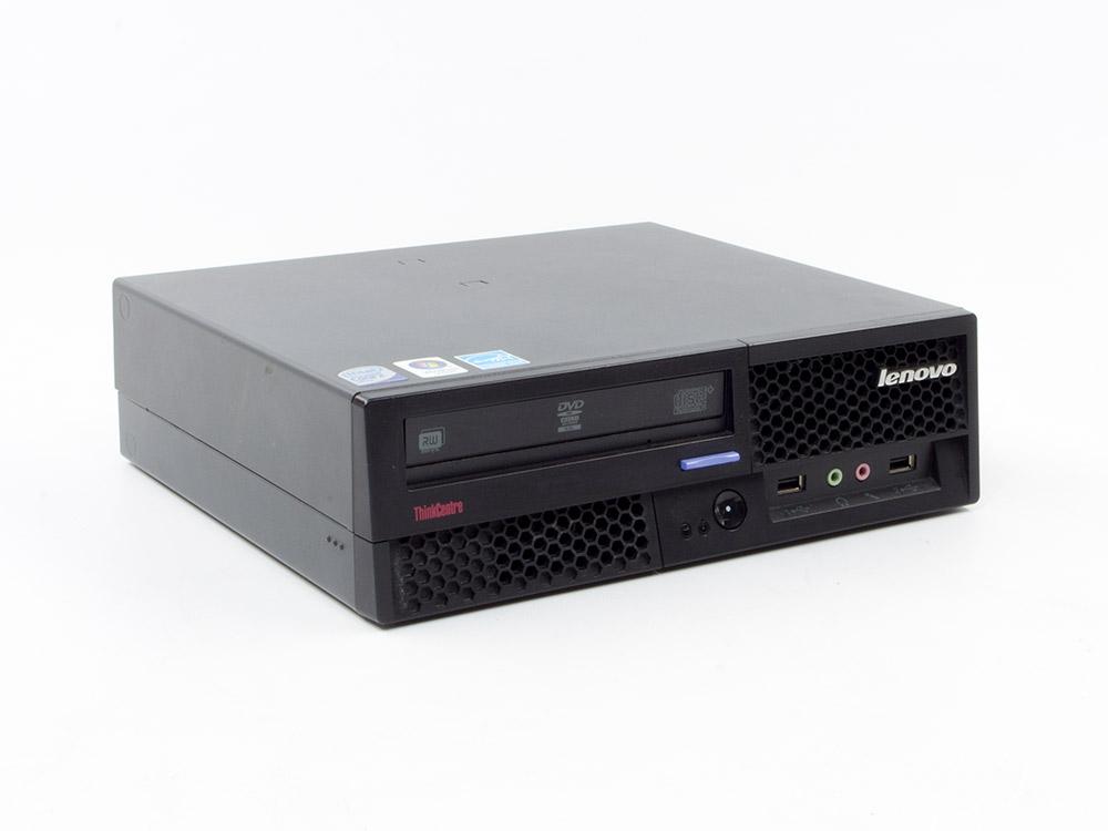 "LENOVO ThinkCentre M58 USFF - USFF   C2D E8400   4GB DDR3   250GB HDD 3,5""   DVD-RW   Intel HD   Win 7 Pro COA   A-"