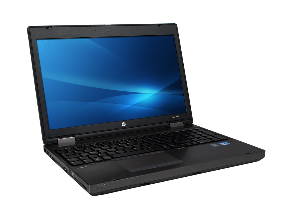 "HP ProBook 6570b - i5-3210M | 4GB DDR3 | 500GB HDD 2,5"" | DVD-RW | 15,6"" | 1600 x 900 | NumPad | HD 4000 | Win 7 Pro COA | B"