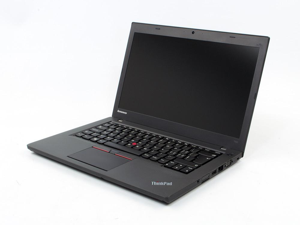 "LENOVO ThinkPad T450 - i5-5300U | 8GB DDR3 | 240GB SSD | NO ODD | 14,1"" | 1600 x 900 | Webcam | HD 5500 | Win 10 Pro | A-"