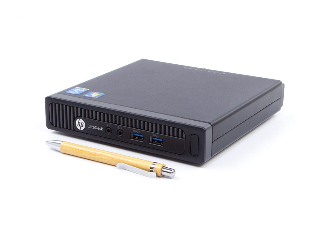 "HP EliteDesk 800 G1 DM - Tiny   i7-4770S   4GB DDR3   500GB HDD 2,5""   NO ODD   HD 4600   Win 10 Pro   A"