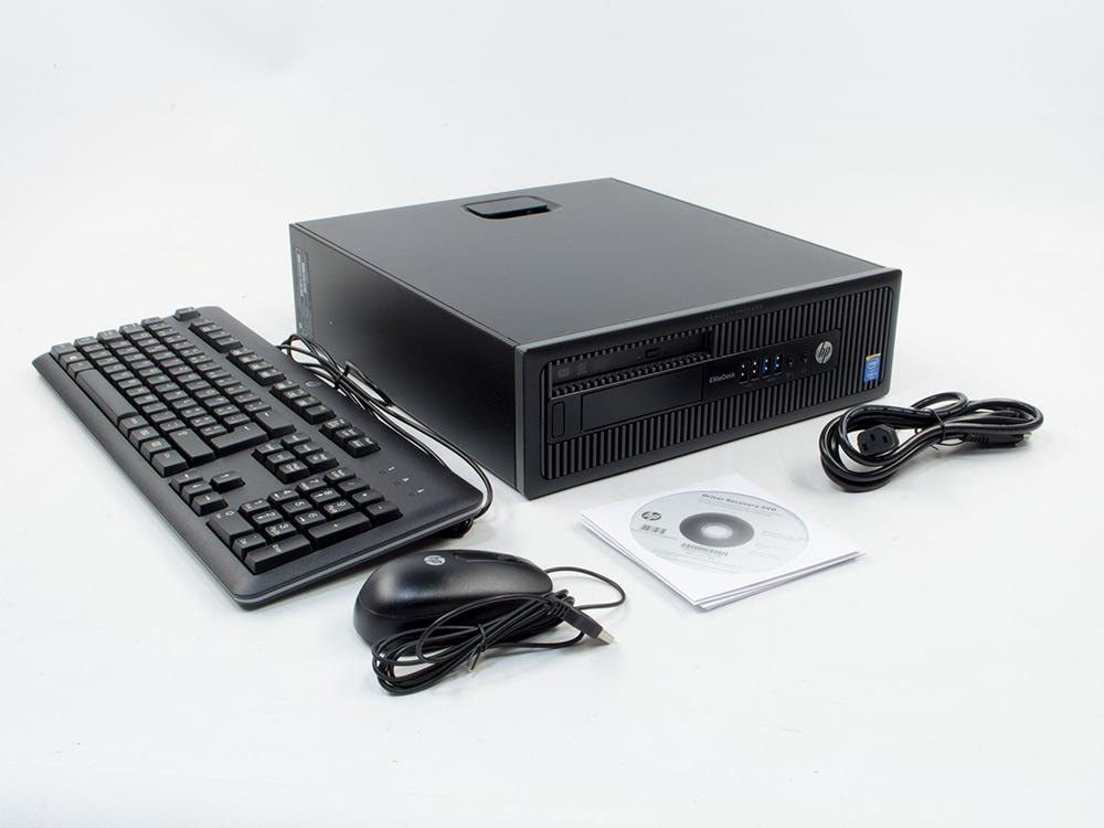 HP EliteDesk 700 G1 SFF - NEW, RETAIL BOX - SFF | i5-4590 | 8GB DDR3 | 256GB SSD | DVD-RW | HD 4600 | Win 10 Pro | NEW