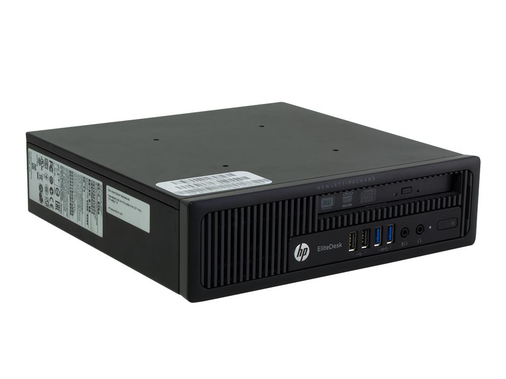 "HP EliteDesk 800 G1 USDT - USDT | Pentium G3220T | 4GB DDR3 | 500GB HDD 2,5"" | DVD-RW | HD 4600 | Win 7 Pro COA | Gold"