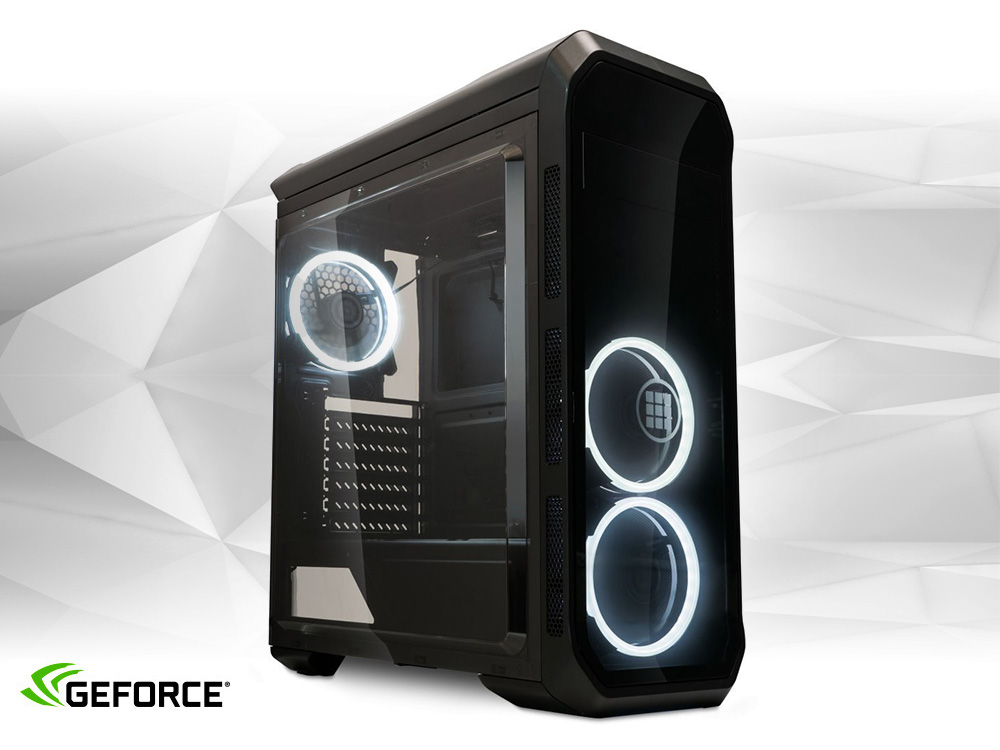 Furbify GAMER PC 4 Tower i5 + GTX 1650 4GB - TOWER | i5-4440 | 8GB DDR3 | 240GB SSD | 500GB HDD 3,5"