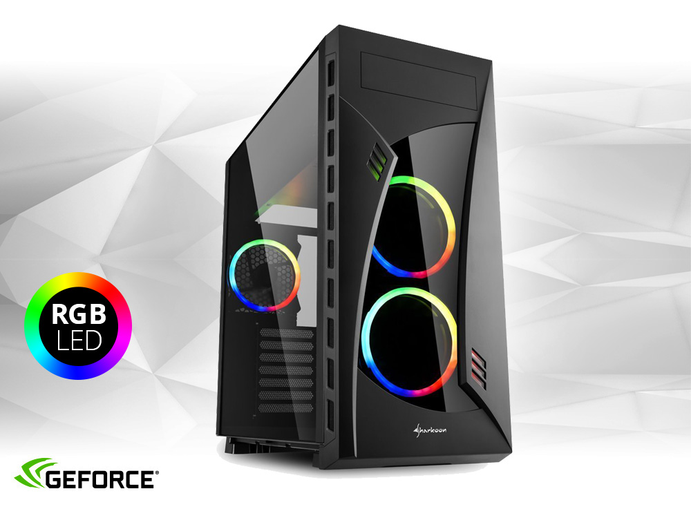 Furbify GAMER PC 4 Tower i5 + GTX 1070 Ti 8GB - TOWER | i5-4440 | 8GB DDR3 | 240GB SSD | 500GB HDD 3,5"