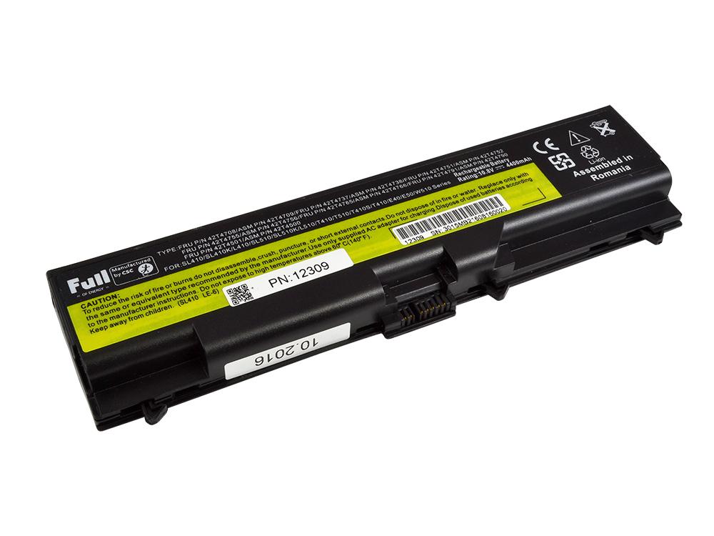 batéria LENOVO ThinkPad T420,L520,T520,T410 - NEW | 4400 mAh | Li-Ion | 10.8V - 11.1V