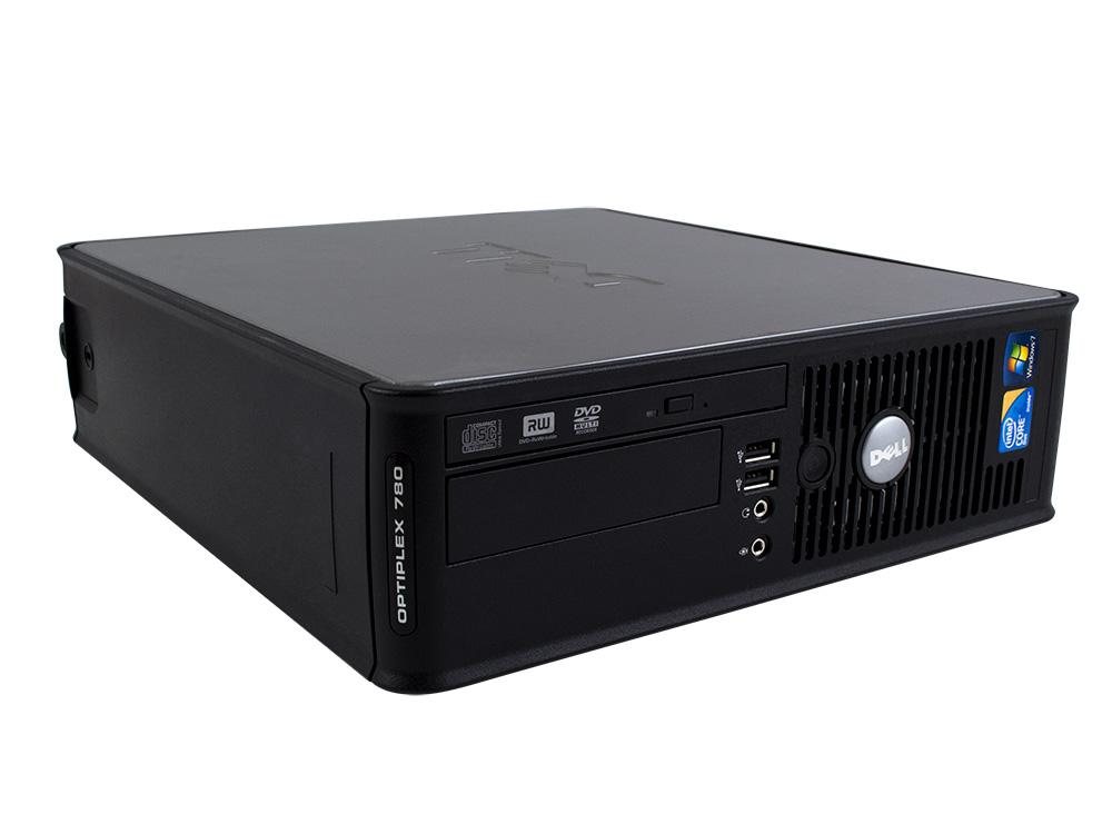 """DELL OptiPlex 760 SFF - SFF   C2D E7500   4GB DDR2   250GB HDD 3,5""""   DVD-RW   GMA 4500   Win 7 Pro COA   Bronze"""