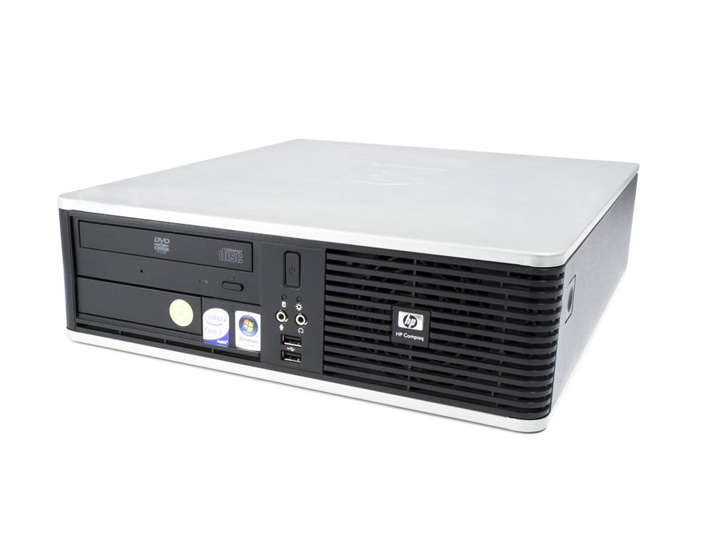 """HP Compaq dc7800 SFF - SFF   C2D E6550   4GB DDR2   250GB HDD 3,5""""   DVD-RW   GMA 3100   Silver"""