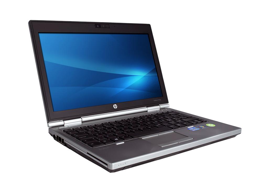 """HP EliteBook 2570p - i7-3520M   4GB DDR3   320GB HDD 2,5""""   DVD-RW   12,5""""   1366 x 768   HD 4000   Win 10 Pro   Silver"""