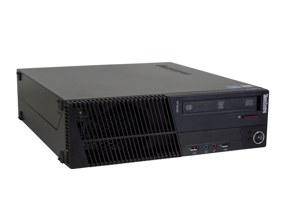 LENOVO ThinkCentre M82 SFF - SFF | i5-3570 | 4GB DDR3 | 120GB SSD | DVD-ROM | HD 2000 | Win 7 Pro COA | Silver