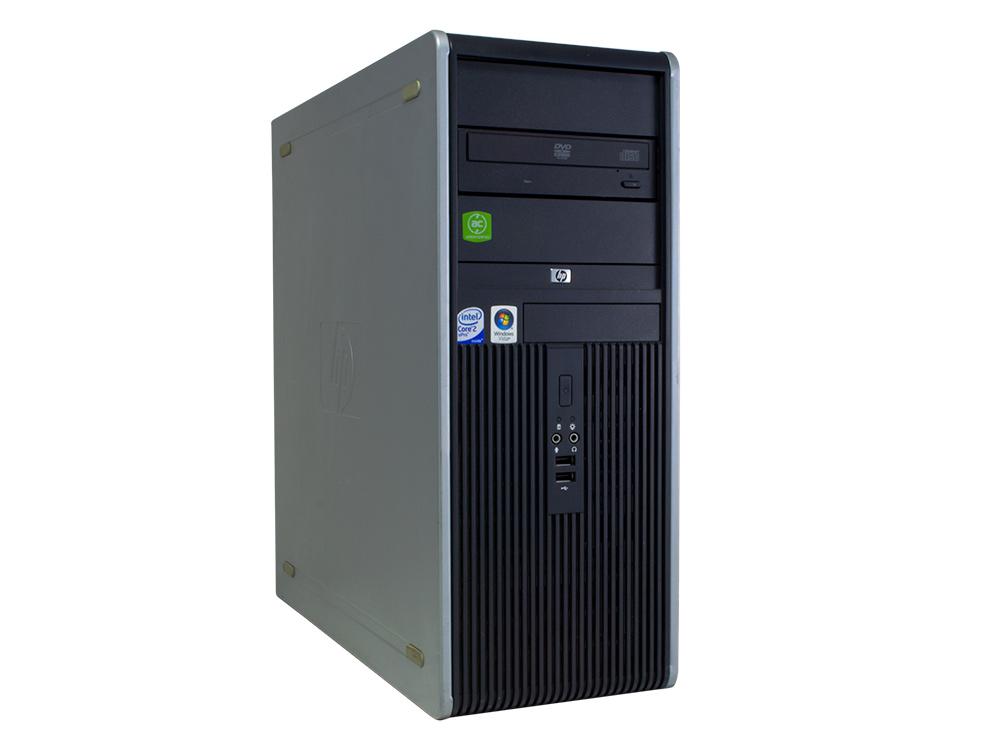 "HP Compaq dc7800p Tower - TOWER | C2D E6750 | 4GB DDR2 | 250GB HDD 3,5"" | DVD-RW | GMA 3100 | Silver"