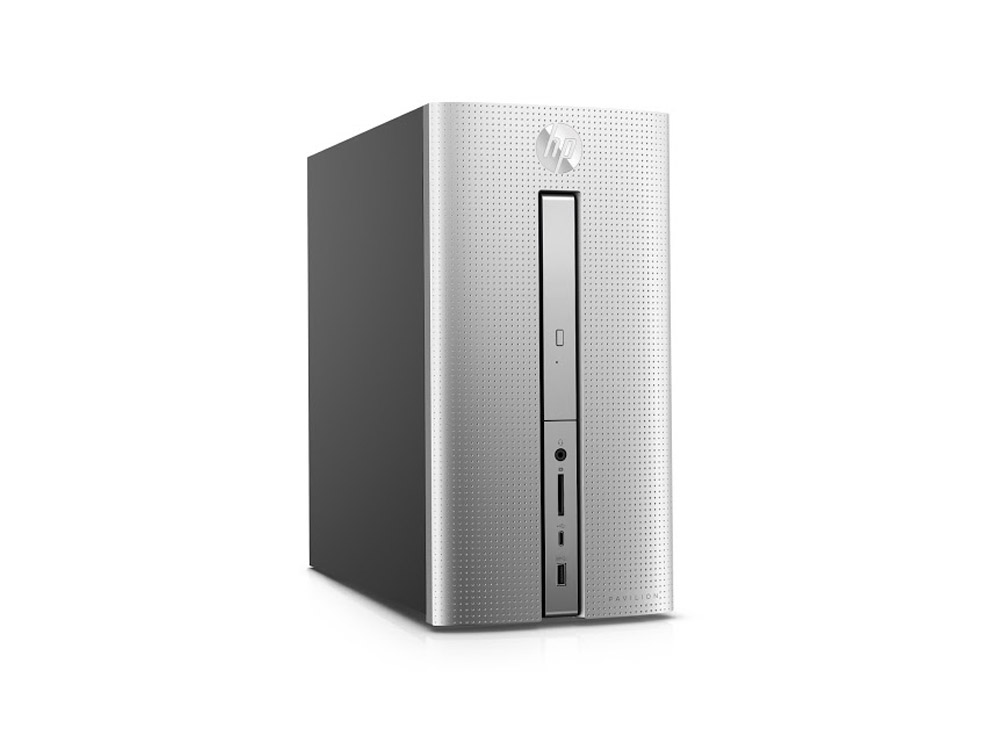HP Pavilion 570 - MT | i5-7400 | 8GB DDR4 | 512GB SSD | DVD-RW | GTX 1050 2GB | Win 10 Pro | HDMI | Silver