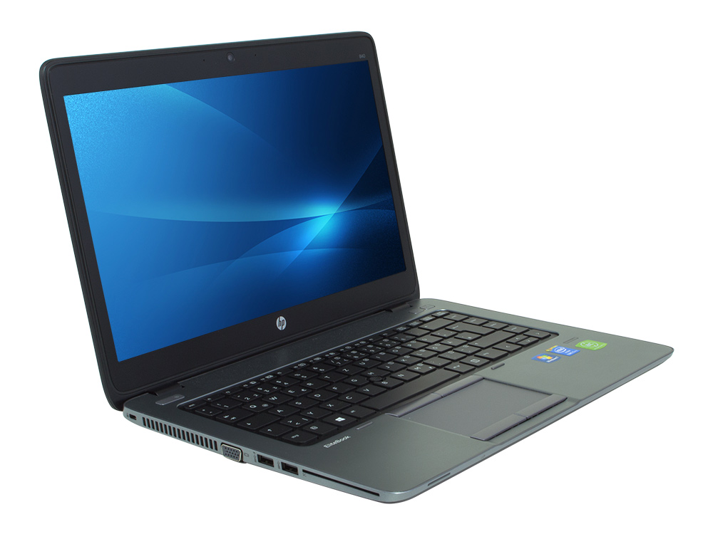 "HP EliteBook 840 G1 - i5-4300U   4GB DDR3   240GB SSD   NO ODD   14""   1600 x 900   HD 4400   Win 10 Pro   Silver   Touchscreen"