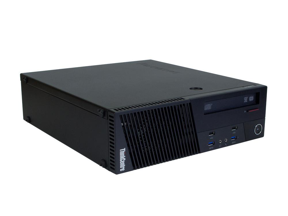 LENOVO ThinkCentre M93p SFF - SFF | i7-4790 | 8GB DDR3 | 256GB SSD | DVD-RW | HD 4600 | Win 10 Pro | Silver
