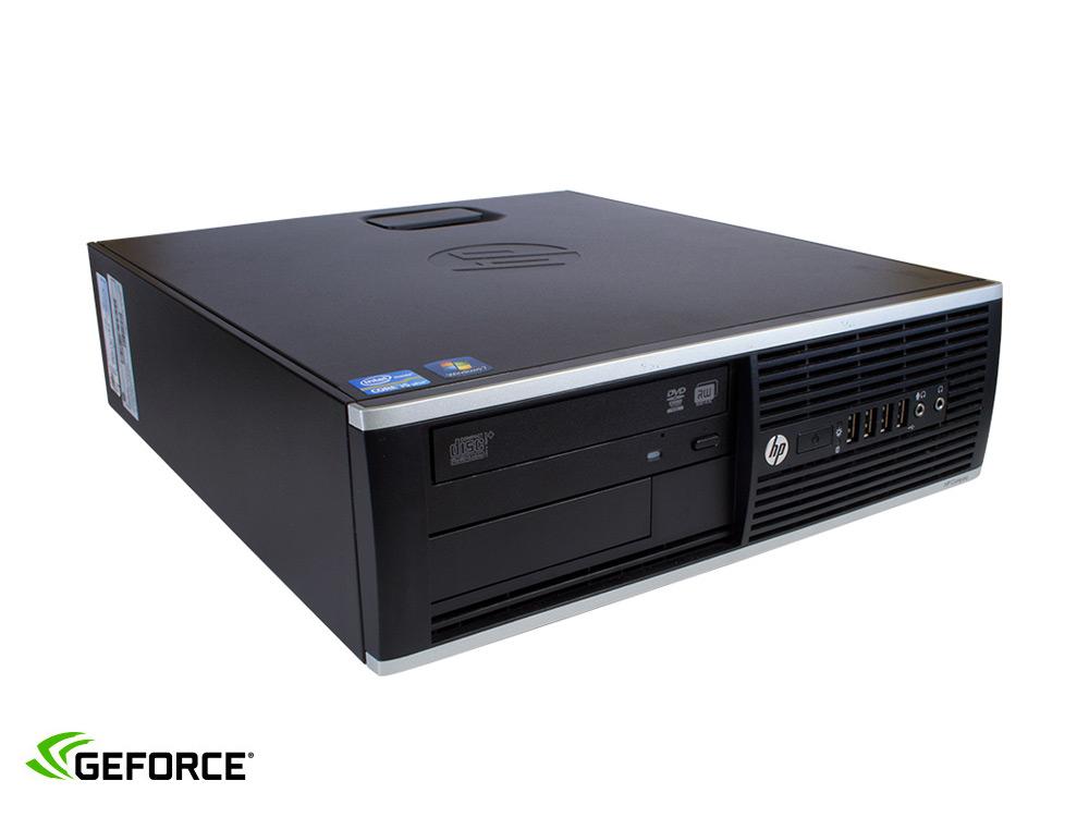 "HP Compaq 8300 Elite SFF i7 + GTX 1650 4GB - SFF | i7-3770 | 8GB DDR3 | 120GB SSD | 500GB HDD 3,5"" | DVD-RW | GTX 1650 4GB | Win 7 Pro COA | HDMI"