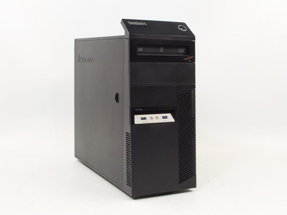 LENOVO ThinkCentre M93p - TOWER | i5-4570 | 4GB DDR3 | 180GB SSD | DVD-RW | HD 4600 | Win 10 Pro | Silver