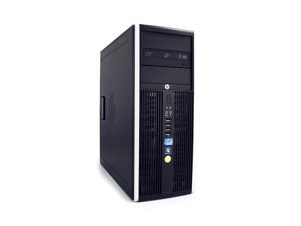 """HP Compaq 8300 Elite CMT - CMT   i5-3570   4GB DDR3   500GB HDD 3,5""""   DVD-RW   HD 2500   Win 7 Pro COA   Silver"""